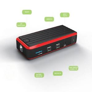 ManiaX Power car emergency power jump starter