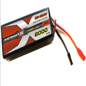 ManiaX 22.2V 8,000mAh multi-rotors lipo battery packs
