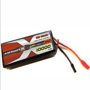 ManiaX 22.2V 10,000mAh multi-rotors lipo battery packs