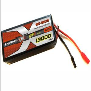 ManiaX 22.2V 13,000mAh multi-rotors lipo battery packs