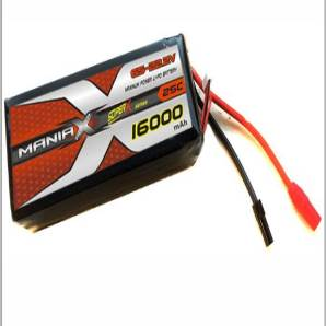 ManiaX 22.2V 16,000mAh multi-rotors lipo battery packs